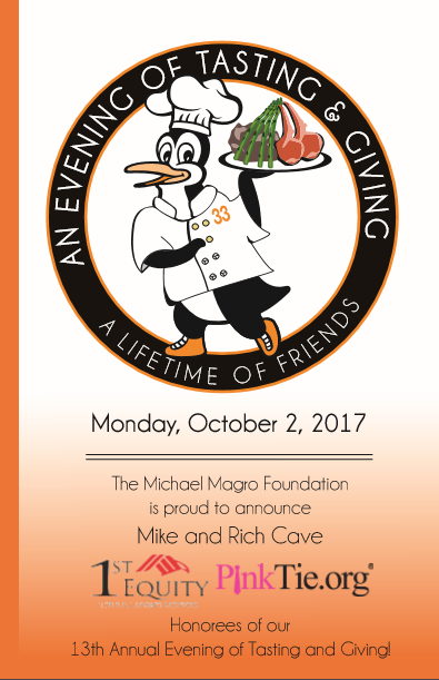 13th Annual Evening of Tasting & Giving Michael Magro Foundation